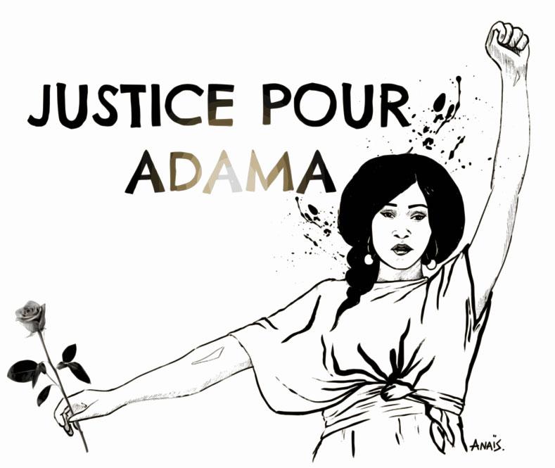 Justice pour Adama #Assatraore