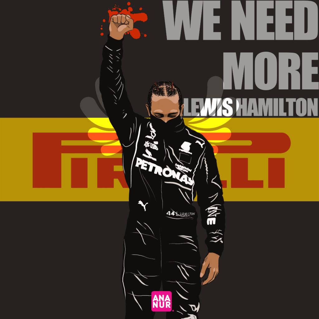 We need more Lewis Hamilton